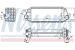 Chłodnica powietrza doładowującego - intercooler NISSENS  961442