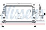 Chłodnica powietrza doładowującego - intercooler NISSENS 96222 NISSENS 96222