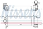 Chłodnica powietrza doładowującego - intercooler NISSENS 96308 NISSENS 96308
