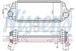 Chłodnica powietrza doładowującego - intercooler NISSENS 96309 NISSENS 96309
