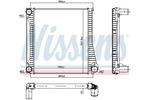 Chłodnica powietrza doładowującego - intercooler NISSENS 96422 NISSENS 96422