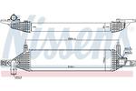 Chłodnica powietrza doładowującego - intercooler NISSENS 96436 NISSENS 96436