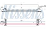 Chłodnica powietrza doładowującego - intercooler NISSENS 96473 NISSENS 96473
