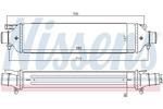 Chłodnica powietrza doładowującego - intercooler NISSENS 96477 NISSENS 96477