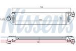 Chłodnica powietrza doładowującego - intercooler NISSENS 96481 NISSENS 96481