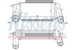 Chłodnica powietrza doładowującego - intercooler NISSENS 96498 NISSENS 96498