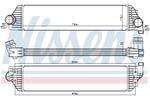 Chłodnica powietrza doładowującego - intercooler NISSENS 96501 NISSENS 96501