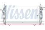 Chłodnica powietrza doładowującego - intercooler NISSENS 96510 NISSENS 96510