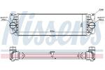 Chłodnica powietrza doładowującego - intercooler NISSENS 96526 NISSENS 96526