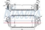 Chłodnica powietrza doładowującego - intercooler NISSENS  96538