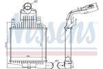 Chłodnica powietrza doładowującego - intercooler NISSENS 96591 NISSENS 96591