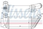 Chłodnica powietrza doładowującego - intercooler NISSENS 96609 NISSENS 96609