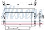 Chłodnica powietrza doładowującego - intercooler NISSENS 96617 NISSENS 96617