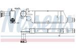 Chłodnica powietrza doładowującego - intercooler NISSENS  96656