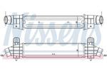 Chłodnica powietrza doładowującego - intercooler NISSENS 96702 NISSENS 96702