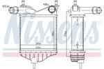 Chłodnica powietrza doładowującego - intercooler NISSENS 96703 NISSENS 96703