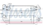 Chłodnica powietrza doładowującego - intercooler NISSENS 96733 NISSENS 96733
