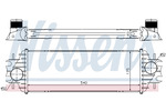 Chłodnica powietrza doładowującego - intercooler NISSENS 96762 NISSENS 96762