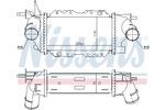 Chłodnica powietrza doładowującego - intercooler NISSENS 96772 NISSENS 96772