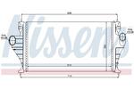 Chłodnica powietrza doładowującego - intercooler NISSENS 96853 NISSENS 96853