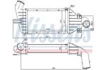 Chłodnica powietrza doładowującego - intercooler NISSENS 96863 NISSENS 96863