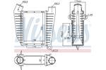 Chłodnica powietrza doładowującego - intercooler NISSENS 96864 NISSENS 96864