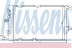 Chłodnica klimatyzacji - skraplacz<br>NISSENS<br>94384