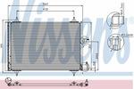 Chłodnica klimatyzacji - skraplacz<br>NISSENS<br>94542