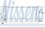 Chłodnica klimatyzacji - skraplacz NISSENS 94589