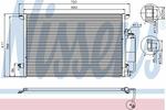 Chłodnica klimatyzacji - skraplacz<br>NISSENS<br>94675