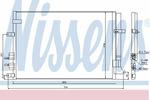 Chłodnica klimatyzacji - skraplacz NISSENS 94871