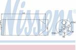 Osuszacz klimatyzacji NISSENS 95070
