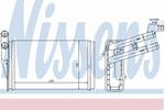 Nagrzewnica ogrzewania kabiny NISSENS 70221 NISSENS 70221