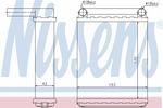 Nagrzewnica ogrzewania kabiny NISSENS 72038 NISSENS 72038