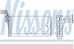 Nagrzewnica ogrzewania kabiny NISSENS 73941 NISSENS 73941