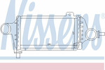 Chłodnica powietrza doładowującego - intercooler NISSENS 96865 NISSENS 96865