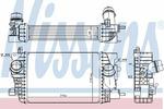 Chłodnica powietrza doładowującego - intercooler NISSENS 96862 NISSENS 96862