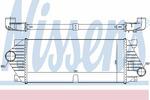 Chłodnica powietrza doładowującego - intercooler NISSENS 96705 NISSENS 96705