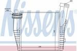 Chłodnica powietrza doładowującego - intercooler NISSENS 96687