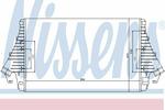 Chłodnica powietrza doładowującego - intercooler NISSENS 96647