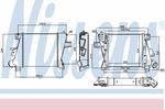 Chłodnica powietrza doładowującego - intercooler NISSENS 96527