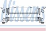 Chłodnica powietrza doładowującego - intercooler NISSENS 96598