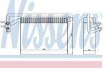 Parownik klimatyzacji NISSENS 92177