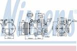 Kompresor klimatyzacji NISSENS 89305