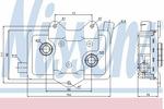 Chłodnica oleju silnikowego NISSENS 90618 NISSENS 90618