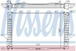 Chłodnica wody NISSENS 65536A