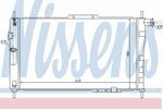 Chłodnica wody NISSENS 61656