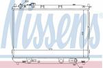 Chłodnica wody NISSENS 66637