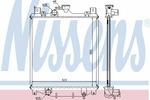Chłodnica wody<br>NISSENS<br>64173A
