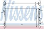 Chłodnica wody NISSENS 62021A